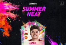 James Summer Heat
