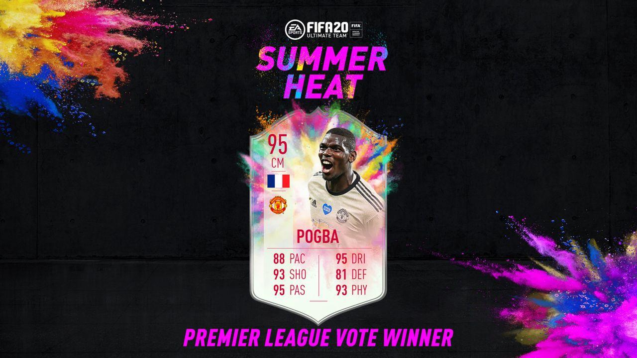 Pogba Summer Heat