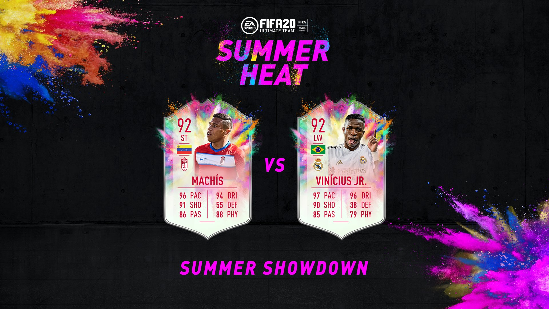 Vinicius Jr Machis Summer Heat Showdown