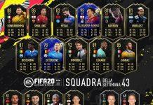 TOTW 43 FIFA 20