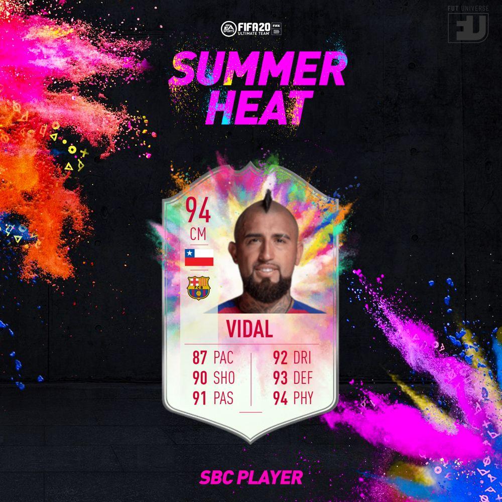 Vidal Summer Heat