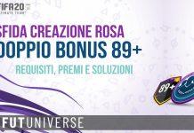 SBC Doppio Bonus 89+