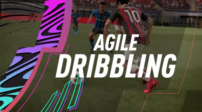 Dribbling Agile FIFA 21