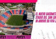 El nuevo gasometro San Lorenzo FIFA 21