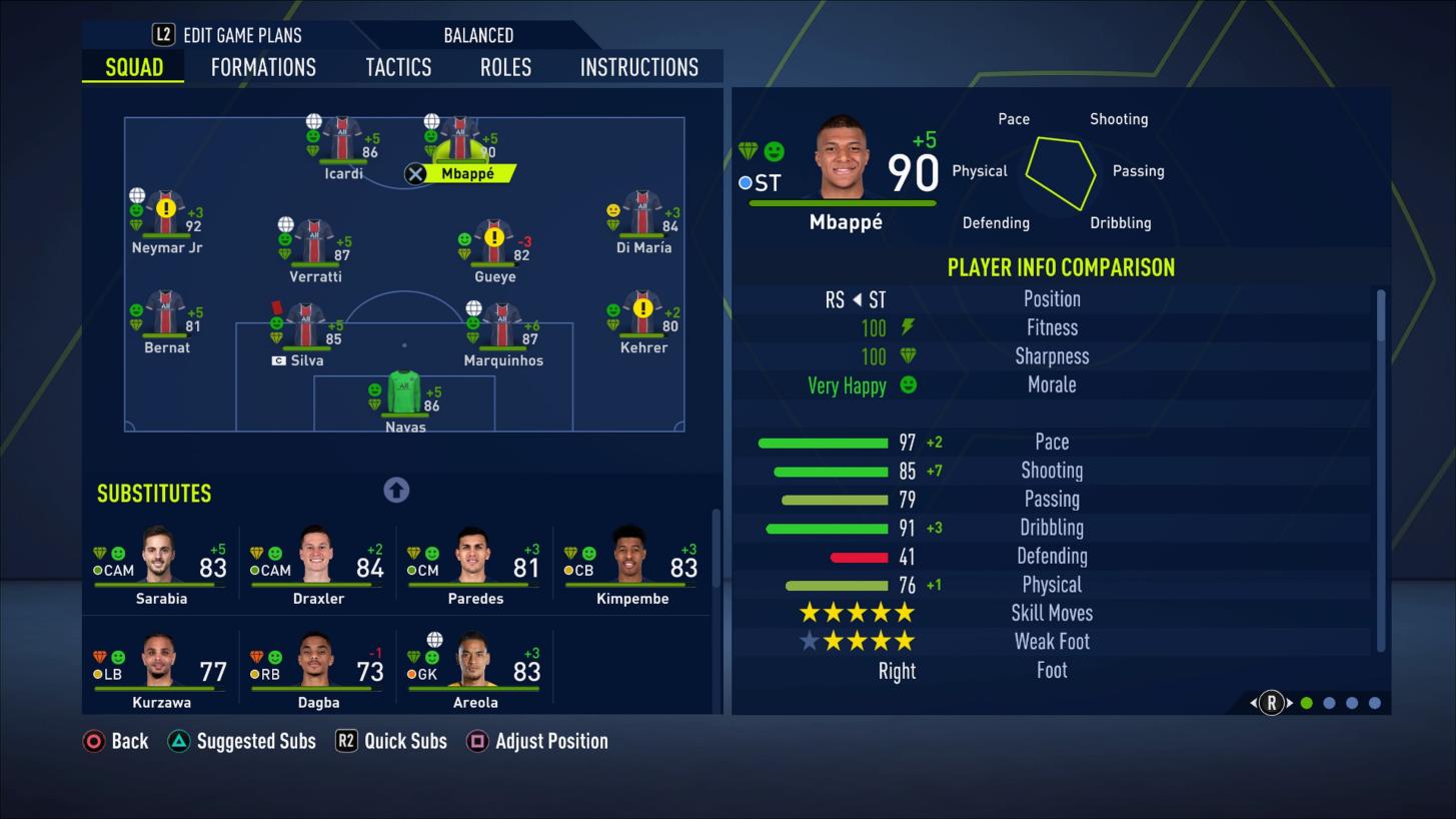 Carriera Allenatore FIFA 21