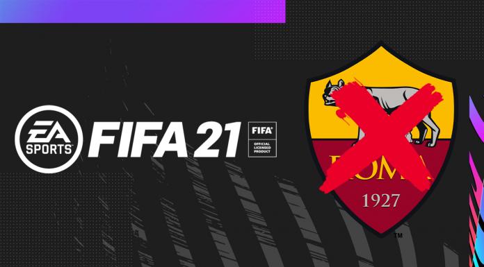 Roma senza Licenza FIFA 21