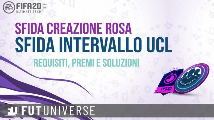 SFIDA Intervallo UCL