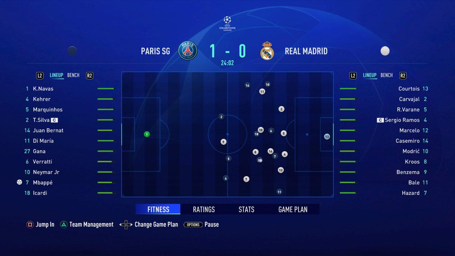 Fifa 21 Simulazione interattiva