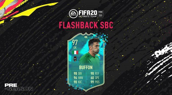 SBC Buffon Flashback