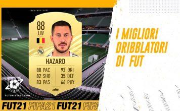 Miglior Dribbling FUT FIFA 21