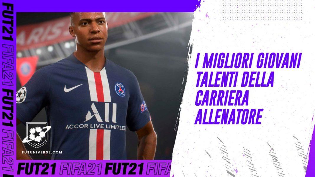 Migliori giovani talenti carriera allenatore FIFA 21