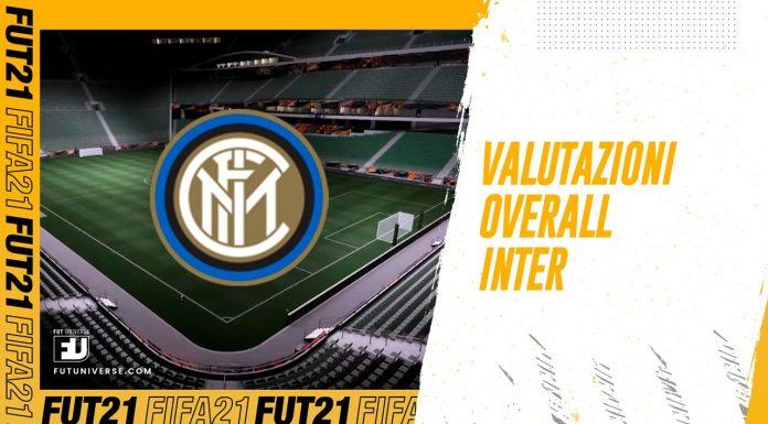 Overall Inter su FIFA 21