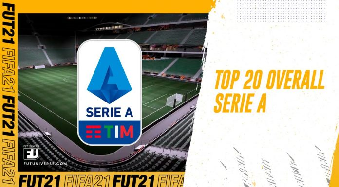 Top 20 Overall Serie A Fifa 21