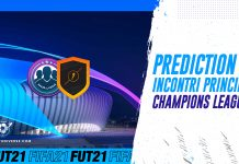 Prediction Incontri Principali UCL
