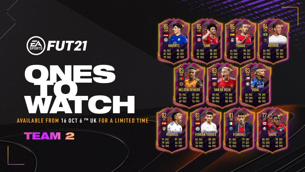 Ones to Watch FIFA 21