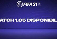 Patch 1.05 FIFA 21 disponibile