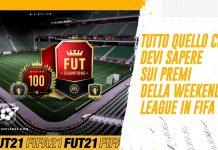 Premi Weekend League FIFA 21