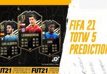 TOTW 5 Predictions