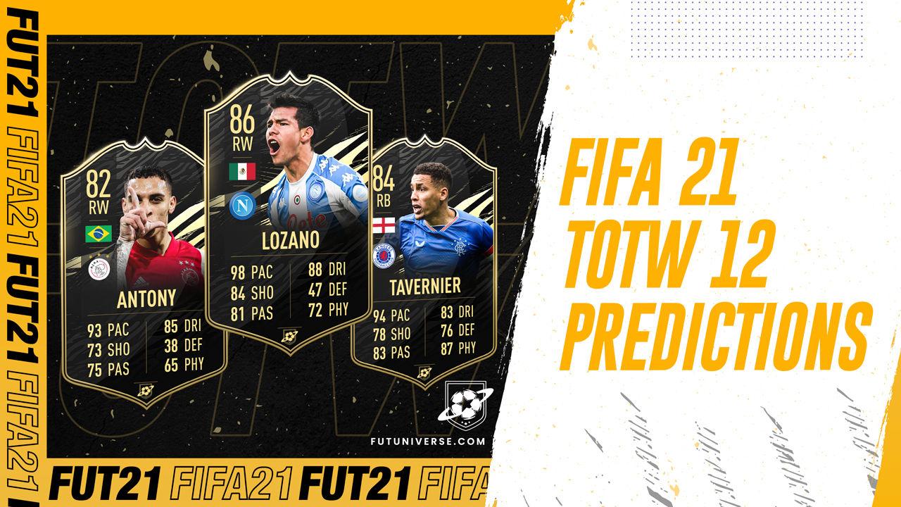 Totw 12 Predictions